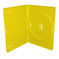 Amaray DVD single Yellow 14mm