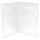 DVD Case Single Slim (7mm), transparent, maschinepacking