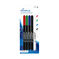 MediaRange Permanent Markerset blue/red/green/black + Eraser